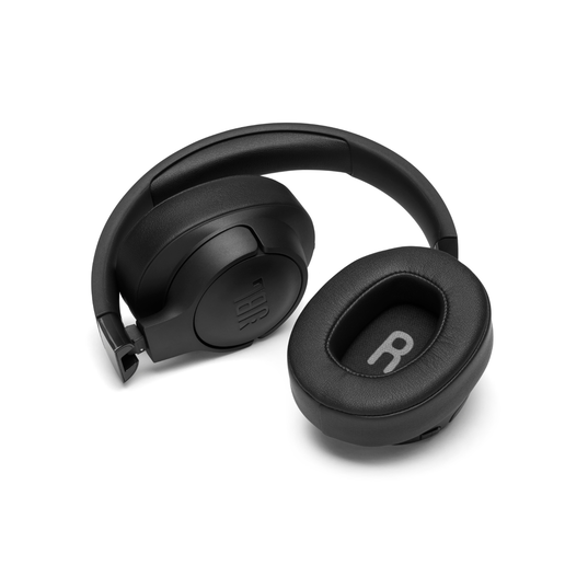 JBL TUNE 750BTNC - Black - Wireless Over-Ear ANC Headphones - Detailshot 2