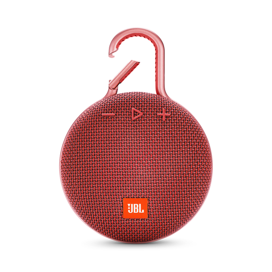 JBL CLIP 3 - Fiesta Red - Portable Bluetooth® speaker - Front