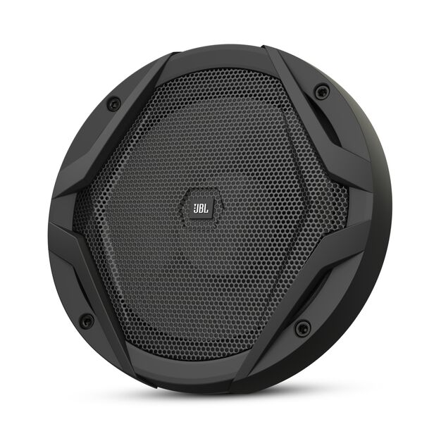 "GX600C - Black - 6-1/2"" car audio component speaker system, 210W - Front"