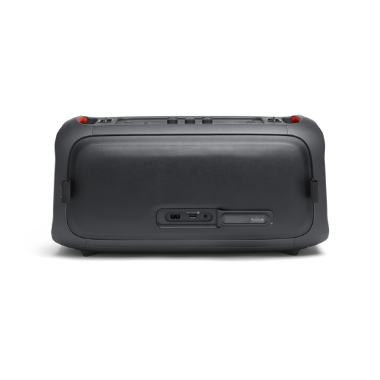JBL PartyBox On-The-Go - Black - Portable party speaker with built-in lights and wireless mic - Back