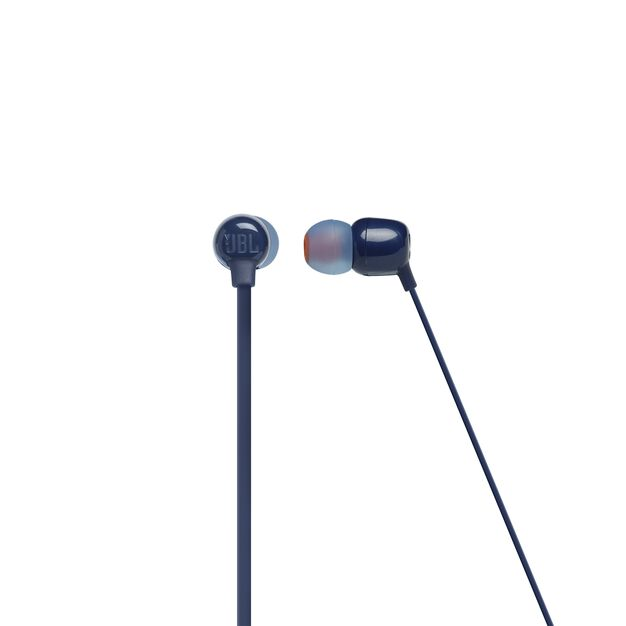 JBL TUNE 115BT - Blue - Wireless In-Ear headphones - Front