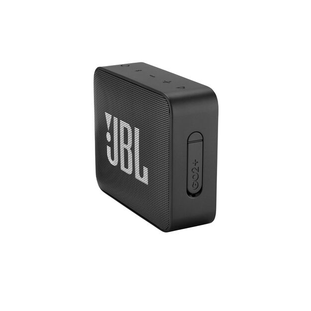 JBL GO2+ - Black - Portable Bluetooth speaker - Detailshot 3