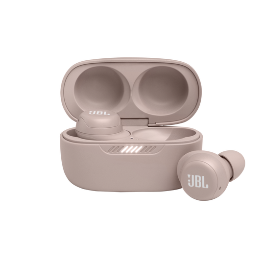 JBL Live Free NC+ TWS - Rose - True wireless in-ear NC headphones - Hero