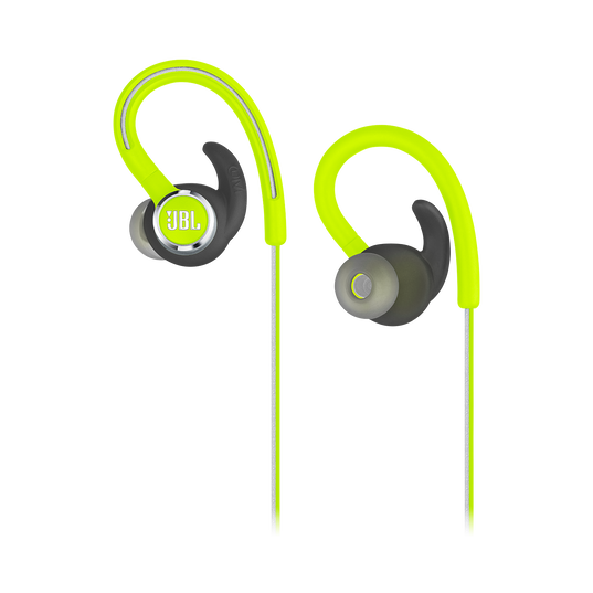 JBL Reflect Contour 2 - Green - Secure fit Wireless Sport Headphones - Detailshot 2