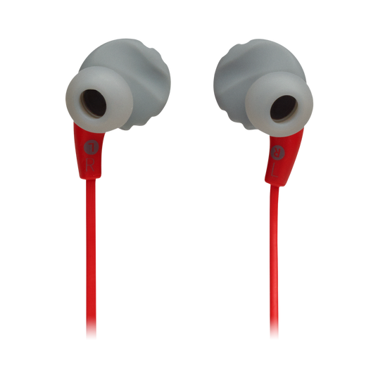 JBL Endurance RUNBT - Red - Sweatproof Wireless In-Ear Sport Headphones - Back