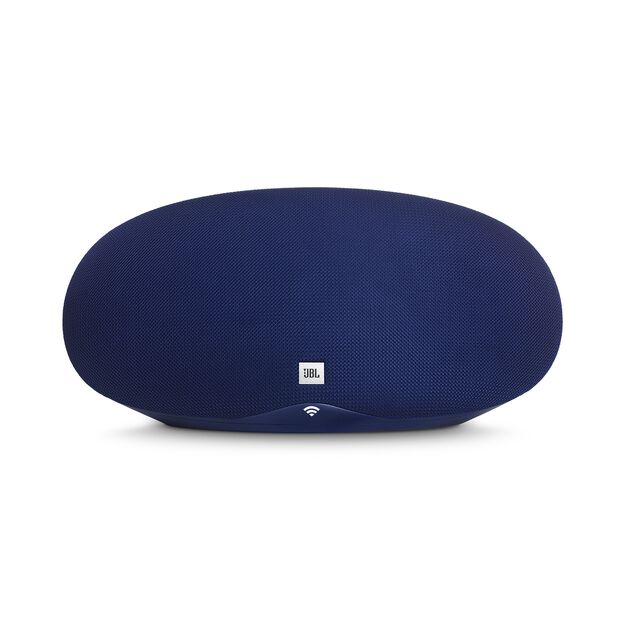 JBL Playlist - Blue - Wireless speaker with Chromecast built-in - Front