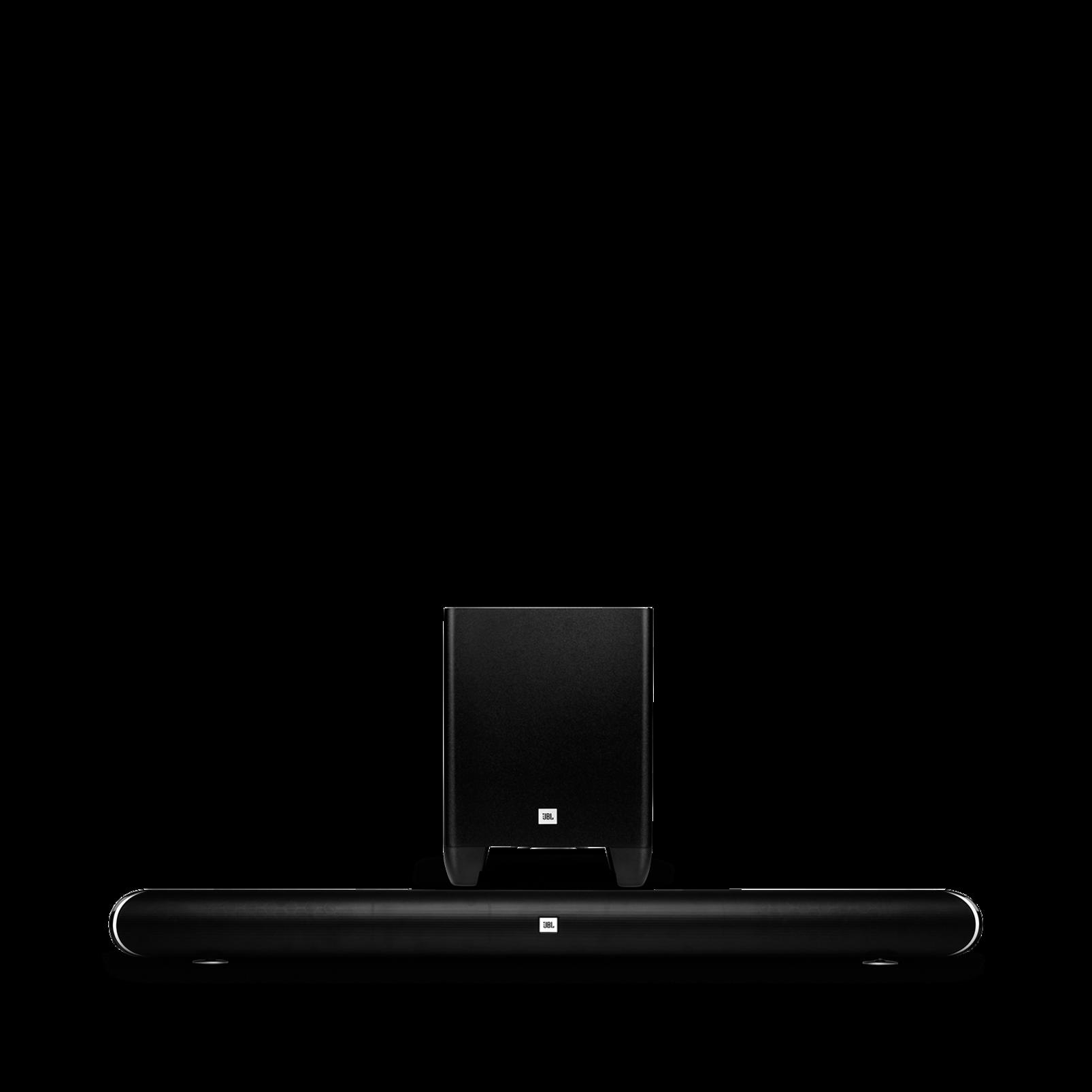 cinema sb350 barre de son home cinema de 320w avec caisson de basses sans fil surround. Black Bedroom Furniture Sets. Home Design Ideas