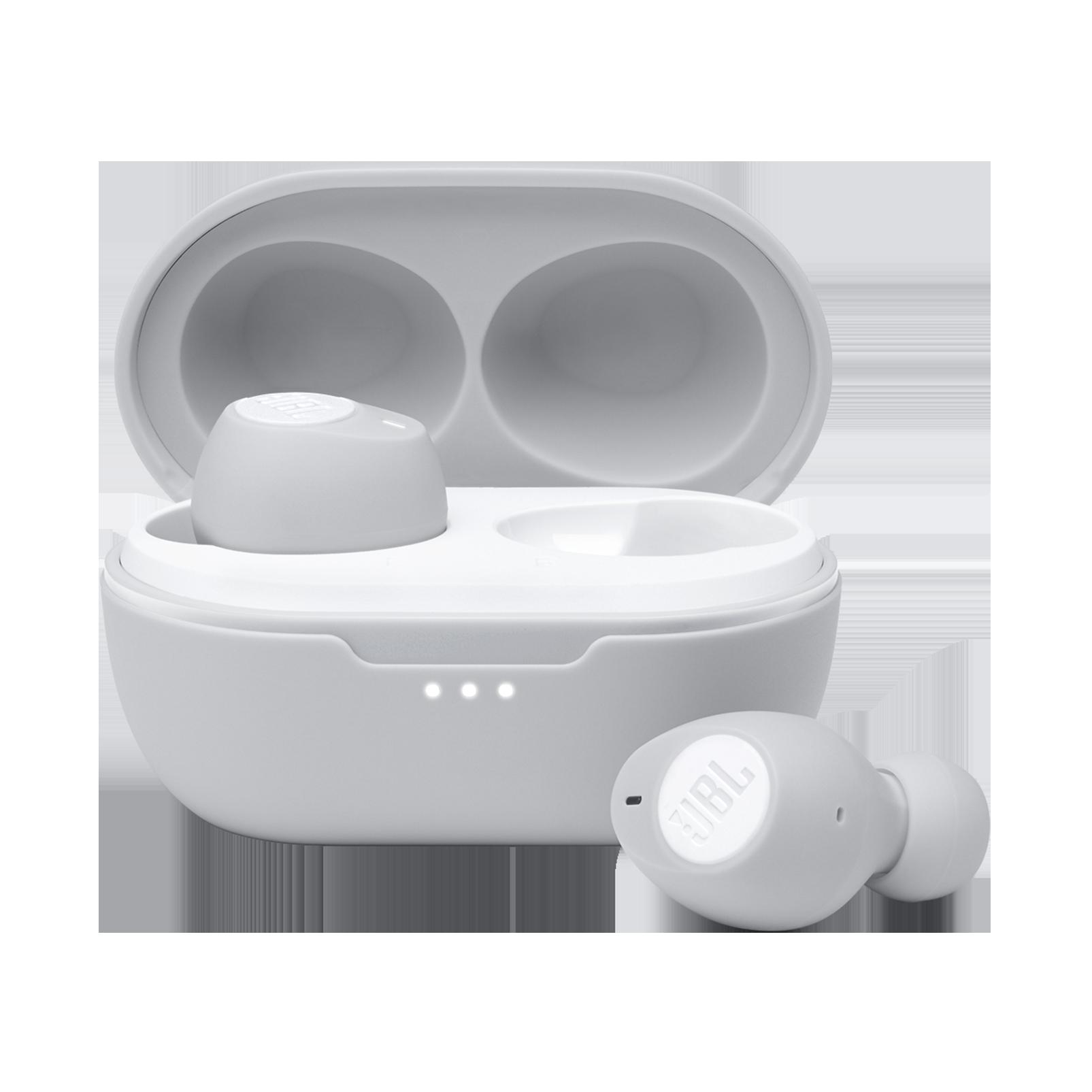 JBL Tune 115TWS - White - True wireless earbuds - Hero
