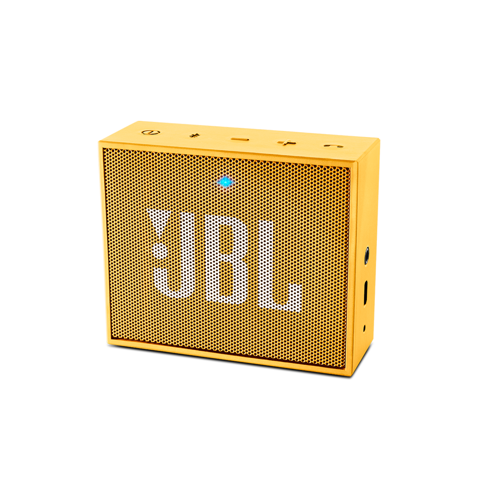 JBL GO - Yellow - Full-featured, great-sounding, great-value portable speaker - Hero